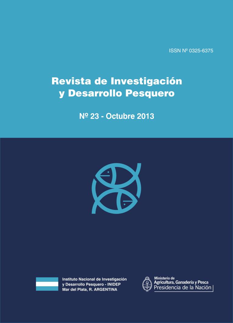 View Vol. 23 (2013): Revista de Investigación y Desarrollo Pesquero