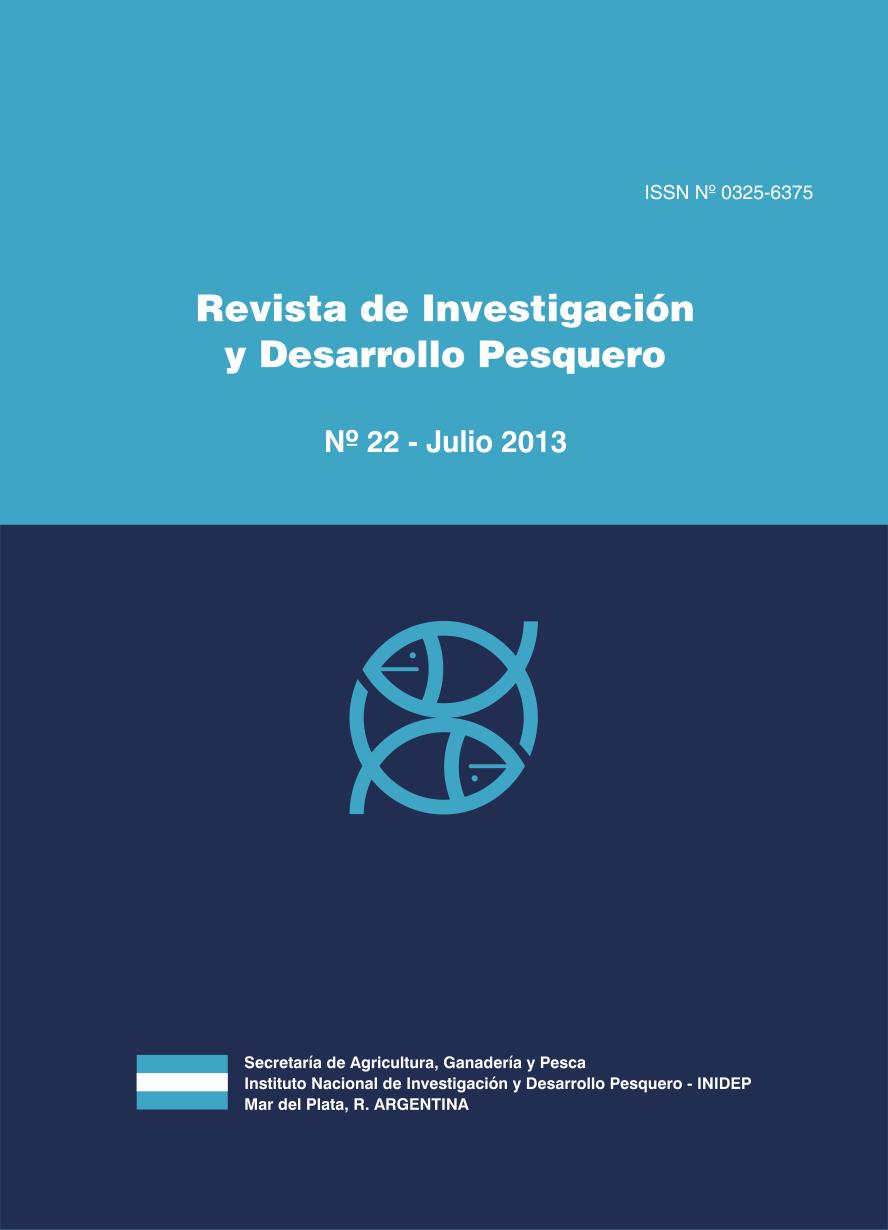 View Vol. 22 (2013): Revista de Investigación y Desarrollo Pesquero