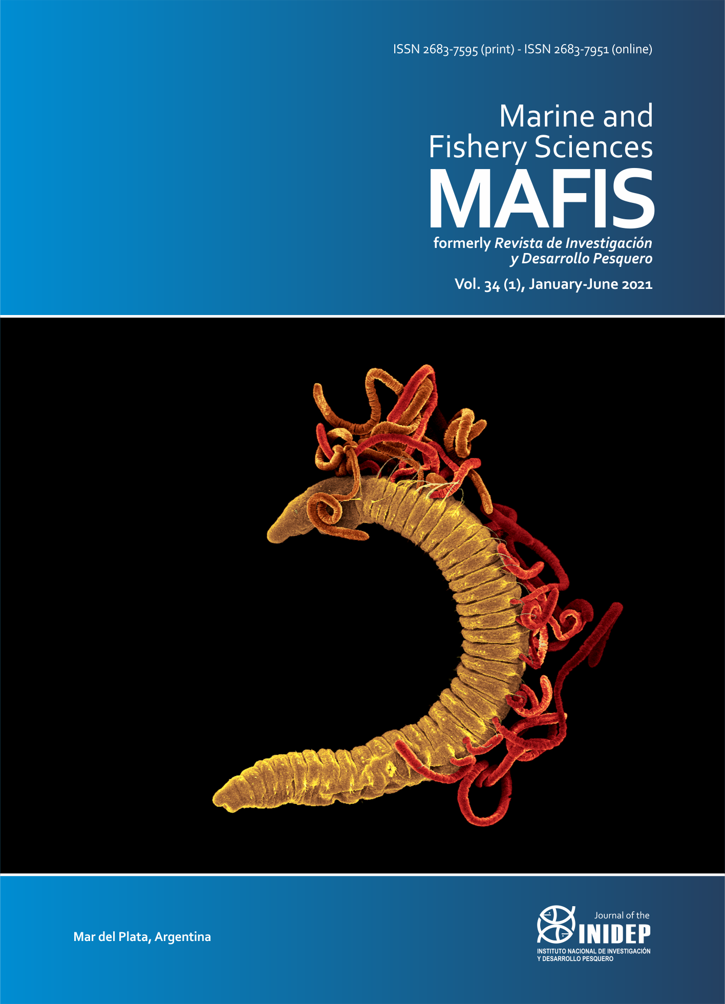 View Vol. 34 No. 1 (2021): Marine and Fishery Sciences (MAFIS)