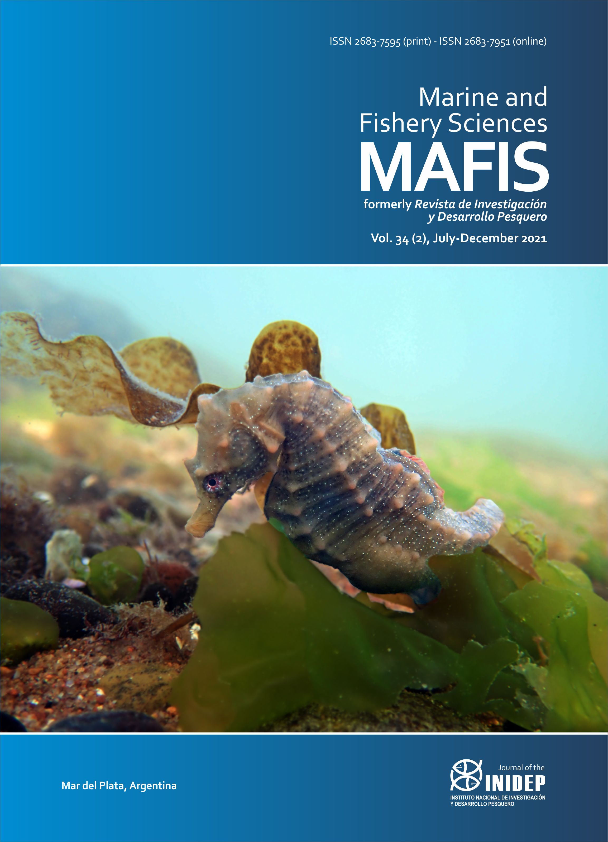 View Vol. 34 No. 2 (2021): Marine and Fishery Sciences (MAFIS)