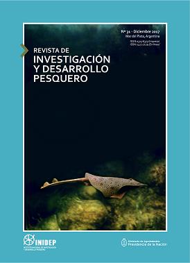 View Vol. 31 (2017): Revista de Investigación y Desarrollo Pesquero