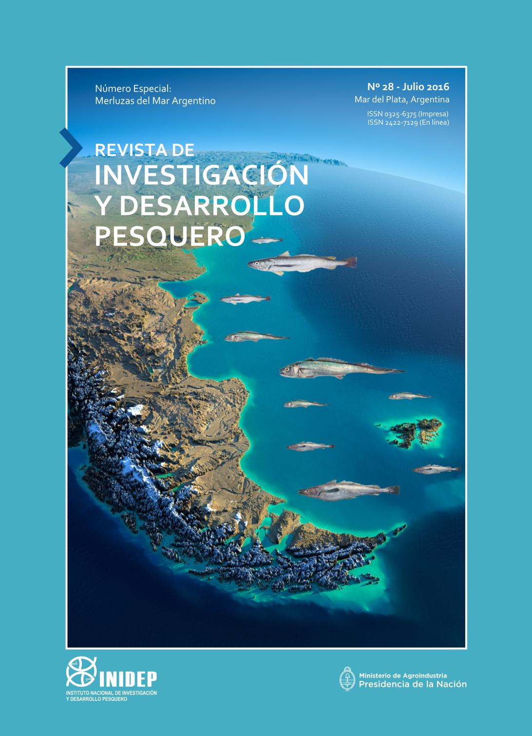 View Vol. 28 (2016): Revista de Investigación y Desarrollo Pesquero