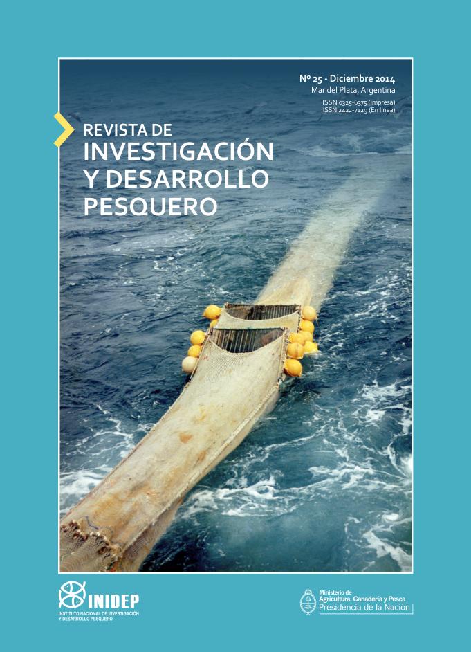 View Vol. 25 (2014): Revista de Investigación y Desarrollo Pesquero